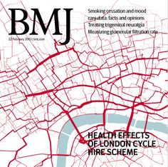What have been the health effects of London's cycle hire scheme? Find the answer and much more in this week's issue http://www.bmj.com/content/348/7946