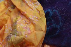 Studio 907: An afternoon of batiking- wax batik on silk
