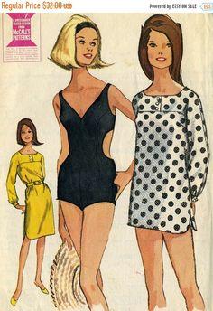 MOMSSale Vintage 60s McCalls 7755 Misses UNCUT Bond by RomasMaison