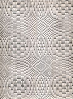'White Baranca' by Colombia weaving atelier Hechizoo Textiles (founder is Jorge Lizarazo, b.1968). Leather and aluminum. via Cristina Grajales Gallery