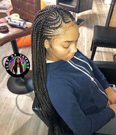 Ghanaian braids cornrows with class vlechten Cornrow Braid Styles, Braided Cornrow Hairstyles, African Braids Styles, Feed In Braids Hairstyles, Braids Hairstyles Pictures, Dope Hairstyles, Braids Cornrows, Half Cornrows, Natural Hairstyles
