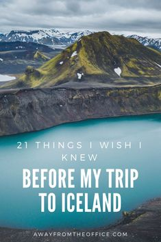 21 Things I Wish I Knew About Iceland Before My Trip Travel tips 2019 21 Things I Wish I Knew Before My Trip to Iceland Iceland Travel Tips, Europe Travel Tips, European Travel, Travel Guides, Places To Travel, Travel Destinations, Norway Travel, Travel Things, Travel Trip