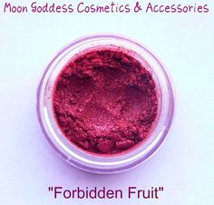 Forbidden Fruit Mineral Eyeshadow by MGCosmetics on Etsy, $7.00