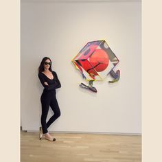 Gabé Hirschowitz at Shulamit Nazarian Gallery, Los Angeles, May 2017.