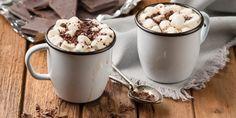 Toasty # creamy, # nur # 20 up # Marshmallow # zu - Schokolade Best Hot Chocolate Recipes, Homemade Hot Chocolate, Chocolate Mugs, Chocolate Topping, Winter Drinks, Holiday Drinks, Cake Filling Recipes, Latte Recipe, Toasted Marshmallow