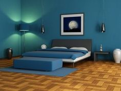 Bedroom Wall Designing-lighting
