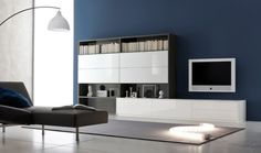 Modular design enables you to mix and match to suit your decor and storage needs