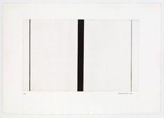 Barnett Newman | Untitled Etching #1 | The Met