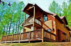 They all look so cozy! The most awesome cabins to stay at in Oklahoma!