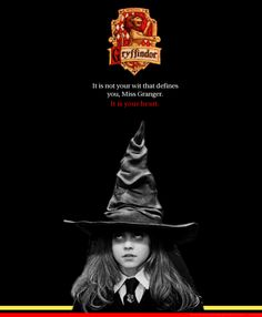 Why Hermione was sorted into Gryffindor, not Ravenclaw. Which is why I hold to being Gryffindor, even if I'm sometimes sorted into Ravenclaw Harry Potter Books, Harry Potter Love, Harry Potter Universal, Harry Potter Fandom, Harry Potter World, No Muggles, Yer A Wizard Harry, Albus Dumbledore, Mischief Managed