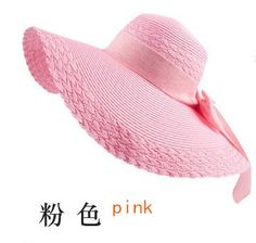 2016 New Wholesale and Retail Fashion Women Wide Large Brim Floppy Summer  Beach Sun Straw Hat e77c9f78c22c