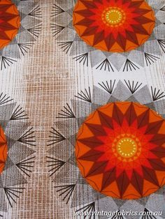 1960s drapery fabric..16