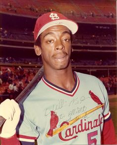November 2,1958 Willie McGee turns 55 today. He is a 3-time Gold Glove Award wining MLB player currently serves as Special Asst. to the St. Louis Cardinals G.M.