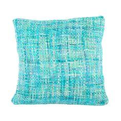 Kussen Ibiza 45 x 45 cm turquoise (6107) #Pakhuis3 #Kussen