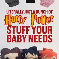Literally Just A Bunch Of Harry Potter Stuff Your Baby Needs