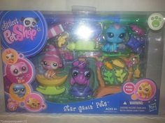 Littlest Pet Shop Swim N Fish 1921 Fox 1922 Whale 1923 Duck New w Accessories