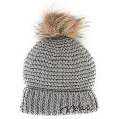 Ikks Pom Pom Hat  My daughter would have to wrestle this off my head...