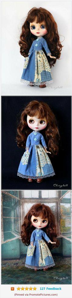 "PF Suitable For 12/"" Neo Blythe Handmade Doll Dress Polka Dot Dress 1 Piece"