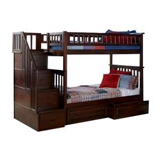 Found it at Wayfair - Columbia Twin Bunk Bed with Storage