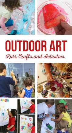 Outdoor Art Kids Cra