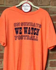 A personal favorite from my Etsy shop https://www.etsy.com/listing/474278317/on-sundays-we-watch-football-unisex