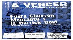 Argentina: Fuera Chevron, Monsanto y la Barrick Gold