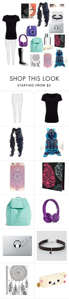 """Ramdon  2"" by tatianazapatat ❤ liked on Polyvore featuring Glamorous, Converse, Joseph, Vera Bradley, Music Notes, Full Tilt and cutekawaii"