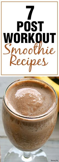 You're going to love these healthy post-workout smoothie recipes!