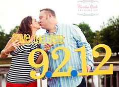 Save The Date Engagement Photo Prop Sign for von ZCreateDesign