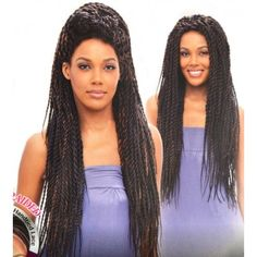 Vanessa Senegal Braid Lace Front Wig TOPS DAKAR TWIST 2 (Hand Braided)