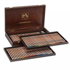 Luminance 76 Professional Permanent Colour Pencils - Caran D'Ache from CraftyArts.co.uk UK