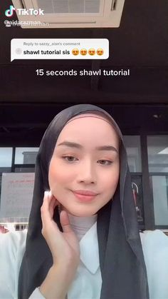 Modern Hijab Fashion, Street Hijab Fashion, Hijab Fashion Inspiration, Muslim Fashion, Modest Fashion, Stylish Hijab, Casual Hijab Outfit, Hijab Dress, Simple Hijab Tutorial