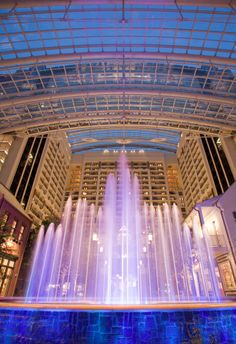Gaylord Hotel, National Harbor 3 Piece Jazz Ensemble and the Atrium Water Fountain Light Show 2012