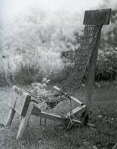 Alexander Calder chair at his home