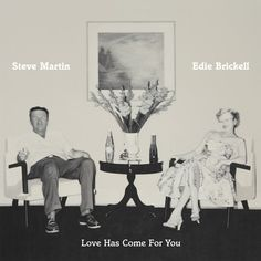 """Allmusic.com says, """"This is a sweet-sounding album with subtle depths, not really bluegrass, but a precisely gentle folk album that grows more graceful and revealing with each listen."""" Find LOVE HAS COME FOR YOU by Steve Martin and Edie Brickell in our catalog: http://highlandpark.bibliocommons.com/item/show/2246625035_love_has_come_for_you"""