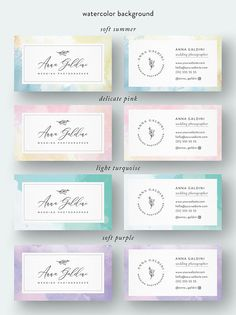 Premade branding kit - business cards made by Weekend Studio Handwritten Logo, Calligraphy Logo, Free Printable Business Cards, When You Are Happy, Photography Logo Design, Elegant Logo, Branding Kit, Printed Materials, Whimsical