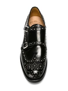 Our selection of women's designer brogues at Farfetch are a world away from the shoe's sensible reputation. Church's Shoes, Oxford Shoes Outfit, Fab Shoes, Me Too Shoes, Shoe Boots, Brogues, Loafers, Runway Shoes, Shoe Boutique