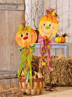 Украшение в виде тыквы своими руками Fall Halloween, Halloween Crafts, Halloween Decorations, Autumn Activities, Art Activities, Crafts To Make, Crafts For Kids, Preschool Classroom Decor, Puppets For Kids