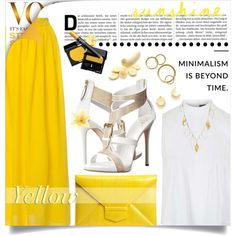 How To Wear Y is for Yellow Outfit Idea 2017 - Fashion Trends Ready To Wear For Plus Size, Curvy Women Over 20, 30, 40, 50