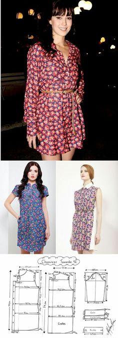 Patterns dress shirt...<3 Deniz <3