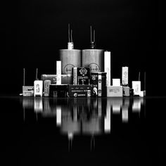 Electro - city by Antonio Coelho Creative Photography, White Photography, Pin Art, World Best Photos, Willis Tower, Photo Contest, Art Sketches, Still Life, Objects