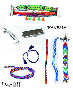 Create your own DIY IPANEMA bracelet