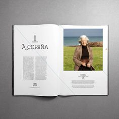 MagSpreads - Editorial Design and Magazine Layout Inspiration: Interview - Santos Henarejos