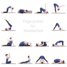 I like this Yoga Poses for Migraine Headaches -See more poses and benefits @ qnaforum.co.in...