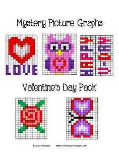 valentine hearts graph
