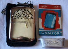 Vintage Hand or Pocket Warmer Complete in Bag by ilovevintagestuff