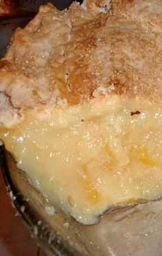 Mamas Southern Cooking... Shaker Lemon Pie