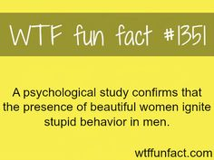 MORE OF WTF FUN FACTS are coming HERE  women, psychological, education and fun facts