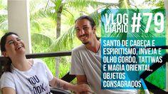 Vlog Diário #49 - Santo de Cabeça, inveja, Tattwas e magia oriental, obj...