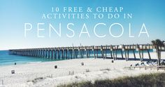 One of the things I love about Pensacola is the amount of free and cheap activities available here – especially for a couple of small town folks from Haw River, NC. Husband and I have never l…